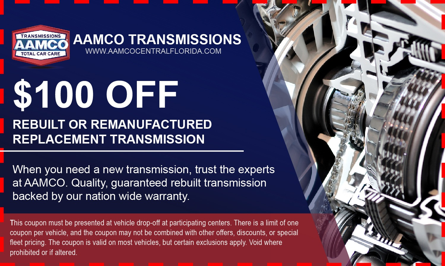 Auto Transmission Repairs Aamco Of West Orlando Fl 32808