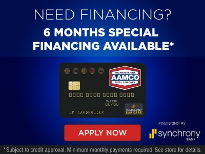 image of Synchrony Financing Banner